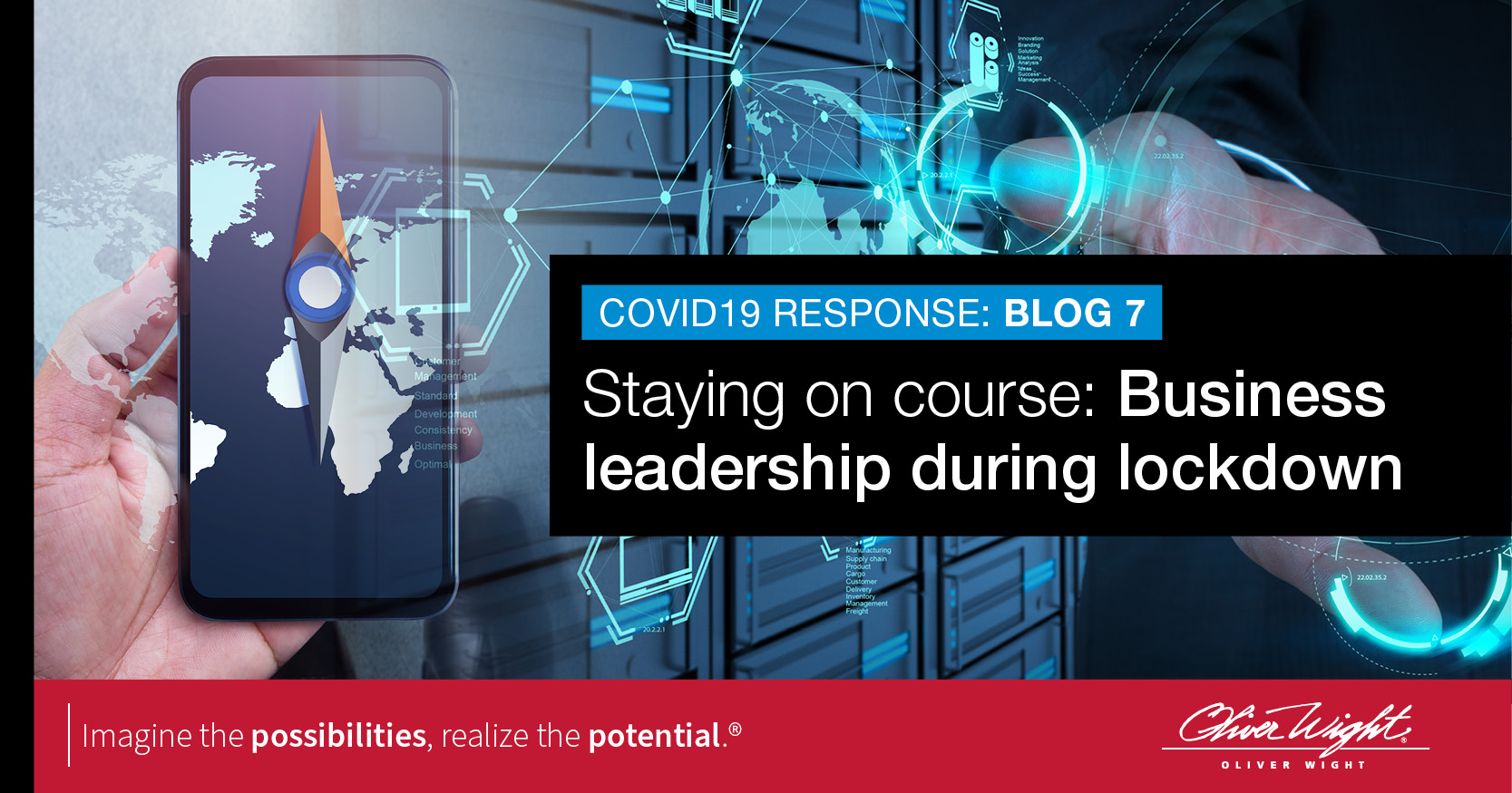 Staying on course: Business leadership during lockdown