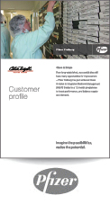 Pfizer Freiburg Customer profile