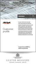 Ulster Weavers Customer Profiles