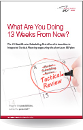 What Are You Doing  13 Weeks From Now?  English Version
