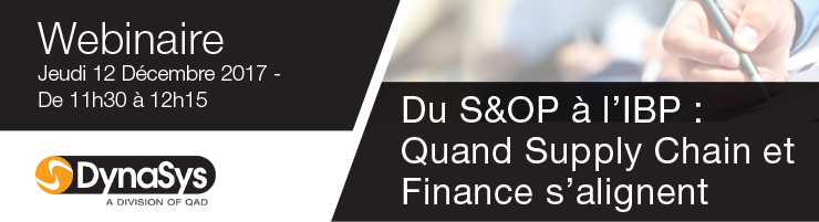 Du S&OP à l'IBP : Quand Supply Chain et Finance s'alignent