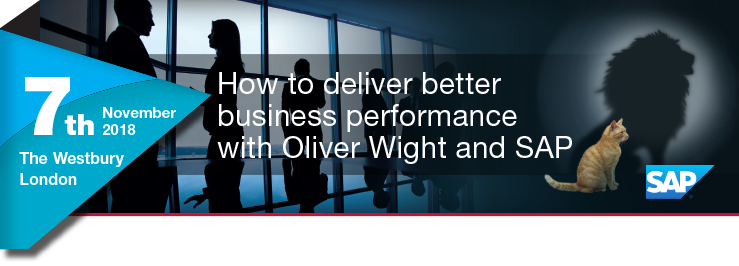 How to deliver better business performance with Oliver Wight and SAP