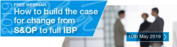 Webinar: How to build the case for change from S&OP to full IBP