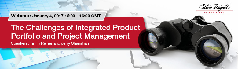 The Challenges of Integrated Product Portfolio and Project Management Webinar