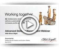 Deploy your business growth strategies with advanced demand management - Webinar April 2015