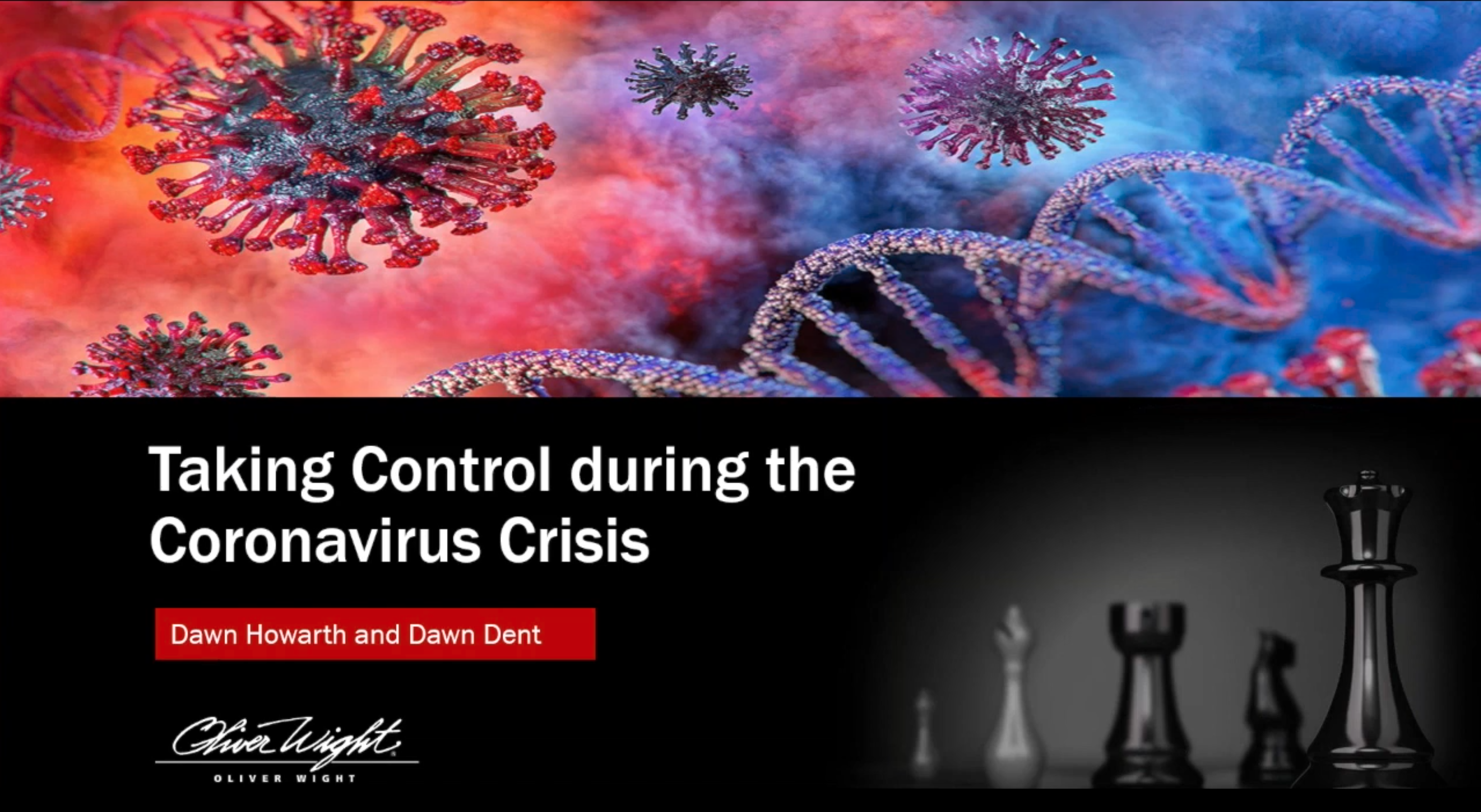 Taking Control During The Coronavirus Crisis