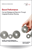 Boost Performance Connect Strategy and Execution Through Integrated Business Planning