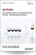 Get Rhythm. The Operating Cadence of Integrated Business Planning - Frequently Asked Questions