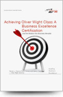 Achieving Oliver Wight Class A Business Excellence Certification