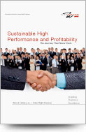 Sustainable High Performance and Profitability