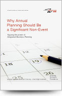 Why Annual Planning Should Be a Significant Non-Event