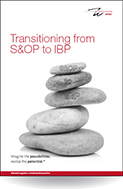 Transitioning from S&OP to IBP