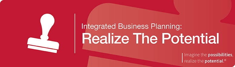 Integrated Business Planning: Realize The Potential