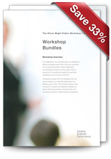 Workshop Bundles - save 33% off
