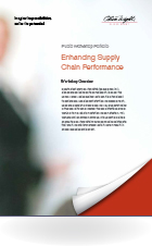 Enhancing Supply  Chain Performance