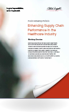 Enhancing Supply Chain Performance in the Healthcare Industry